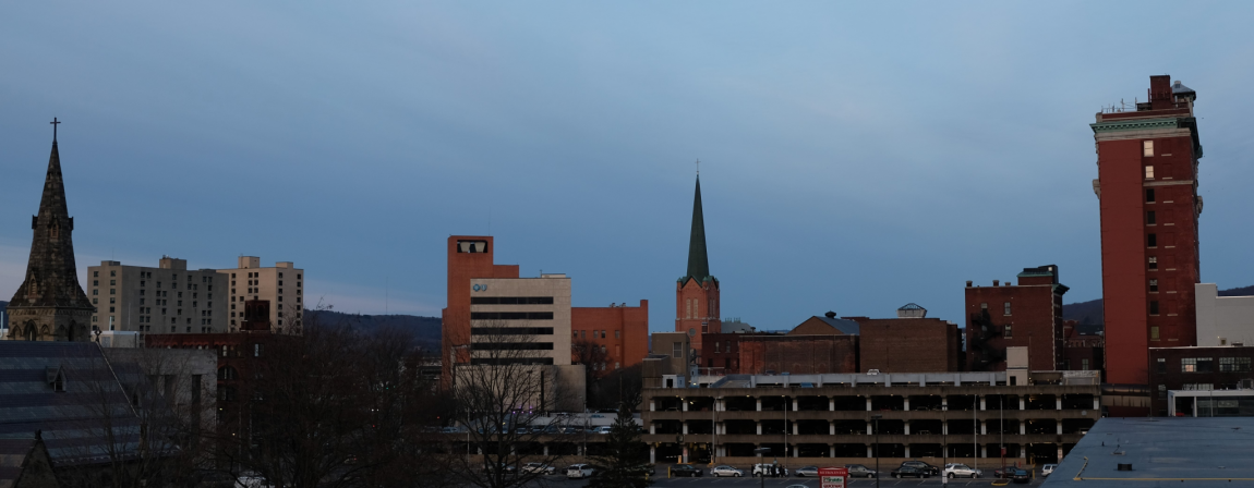 Binghamton Evening Skyline
